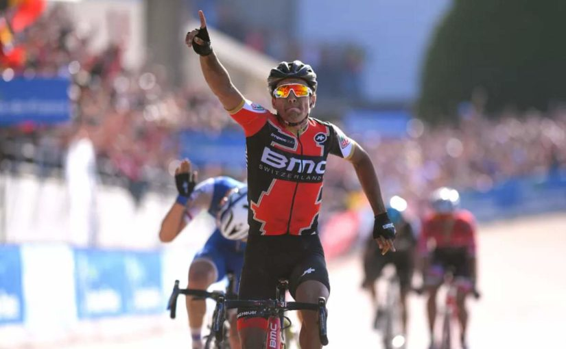 Greg Van Avermaet wins Paris Roubaix 2017
