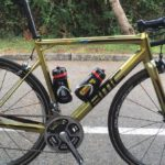 Greg Van Avermaet's Golden-Painted BMC bike