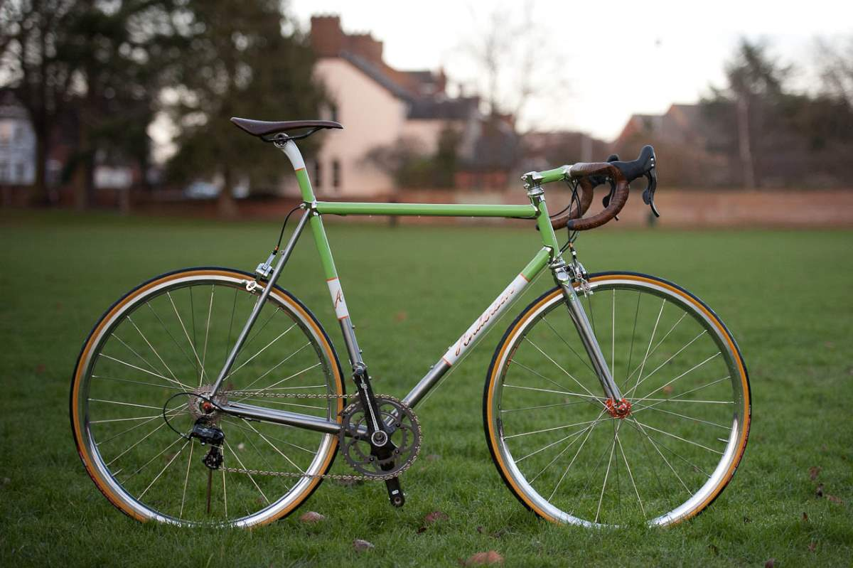 Boutique Bicycle Manufacturers - Anderson Custom Built Road Bike