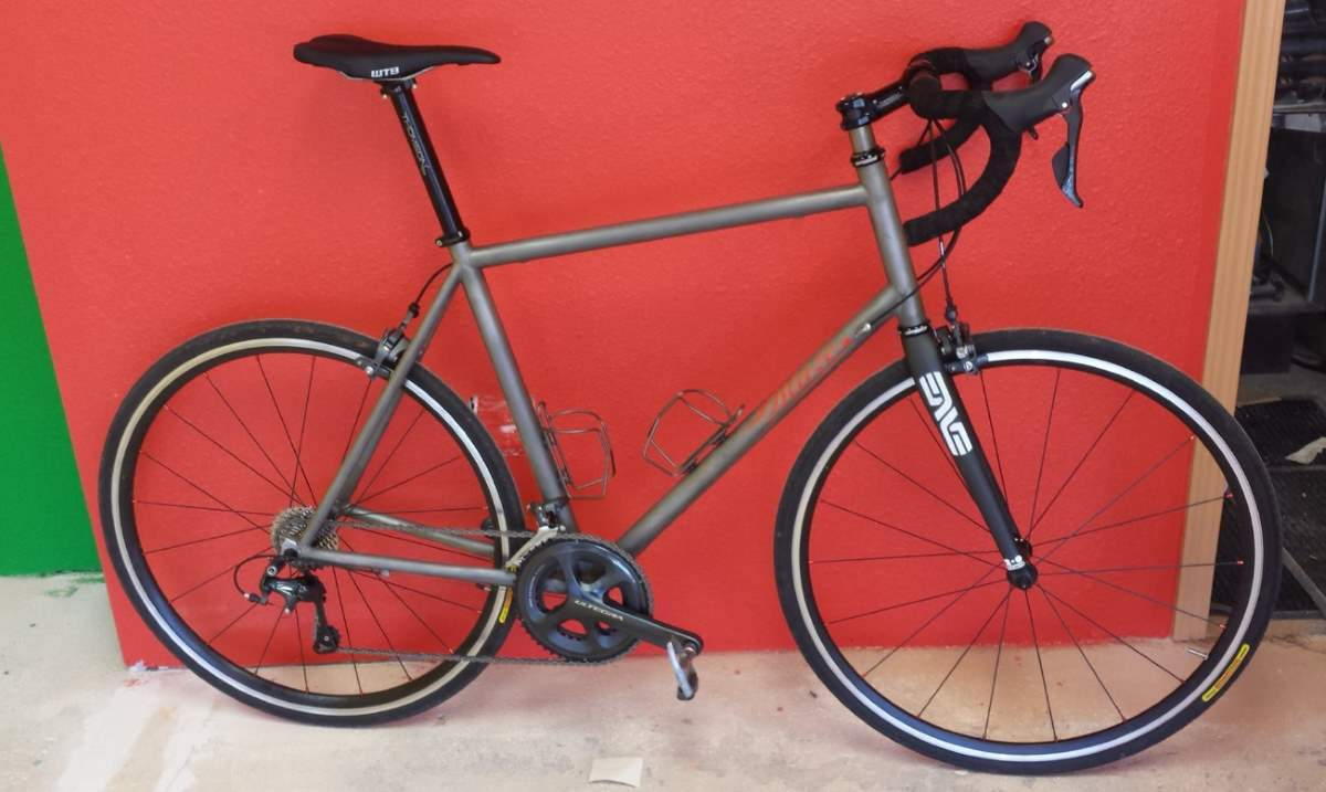 Blaze titanium road bike