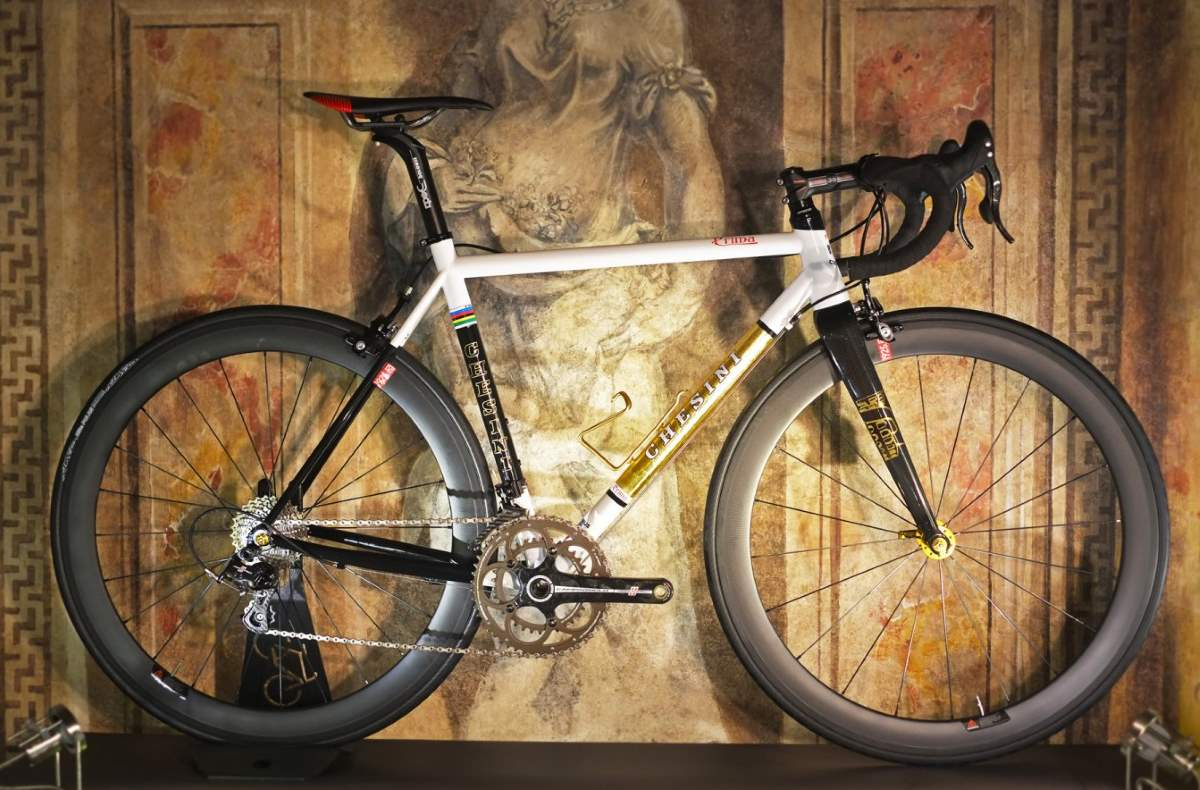 Boutique Bicycle Manufacturers C - Chesini Prima Gold Leaf