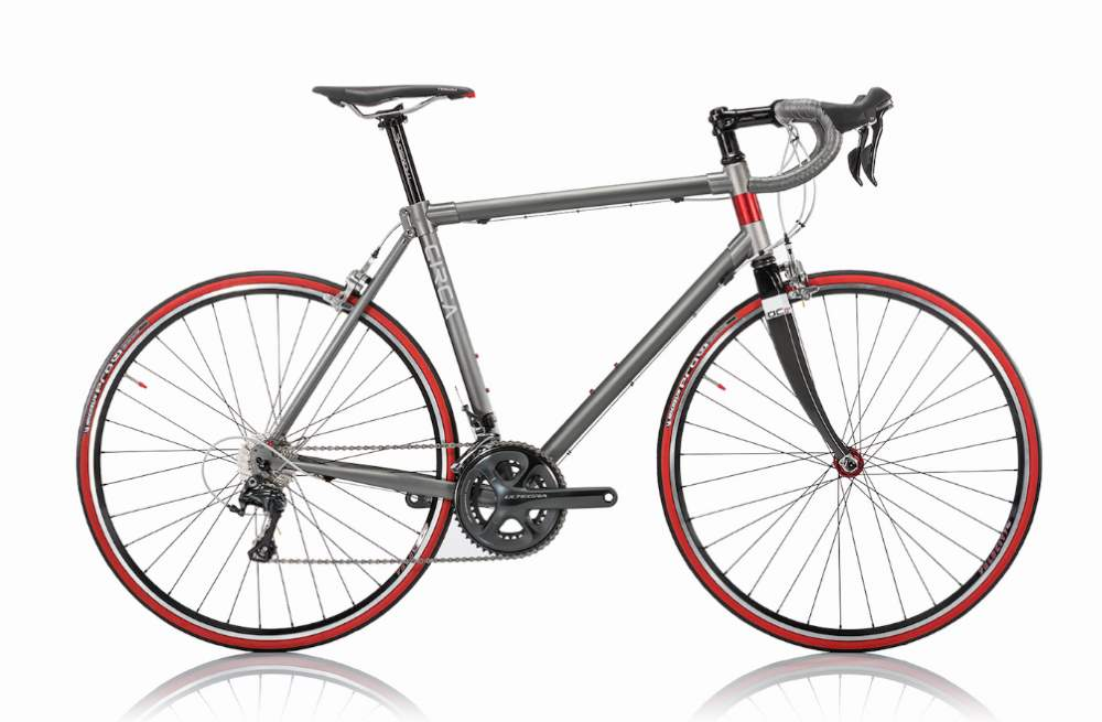 Circa Gray-Red Road Bike