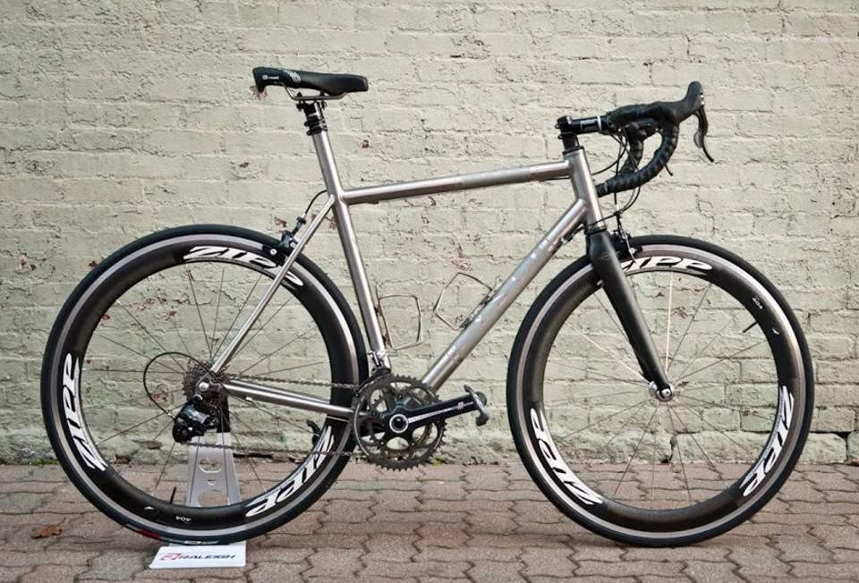 Boutique Bicycle Manufacturers C - Cysco Titanium Road Bike