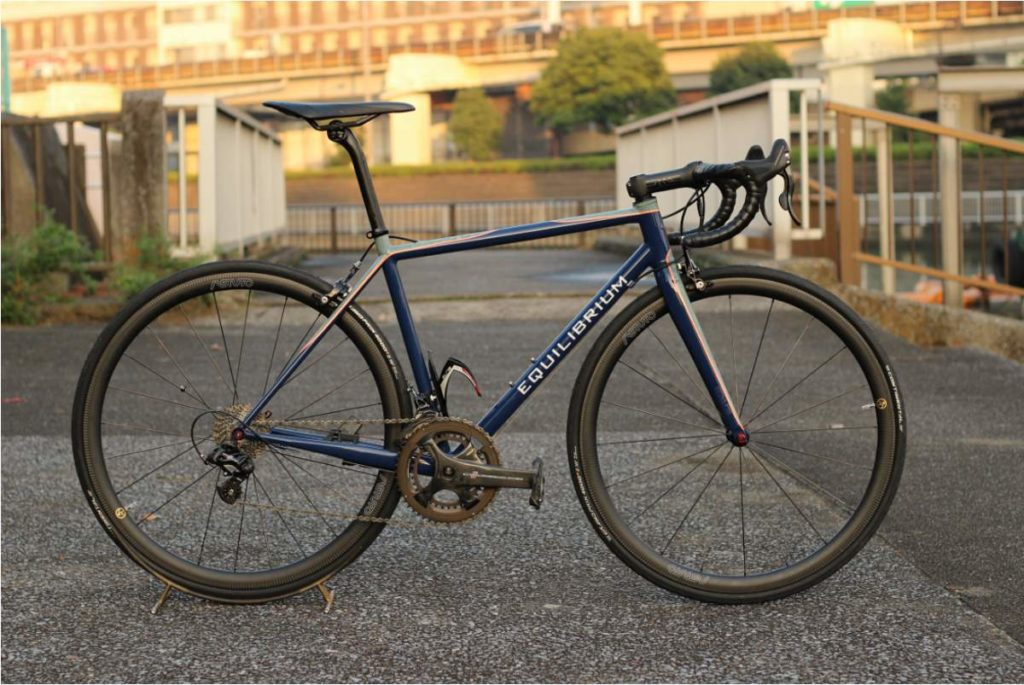 Equilibrium E1 steel road bike