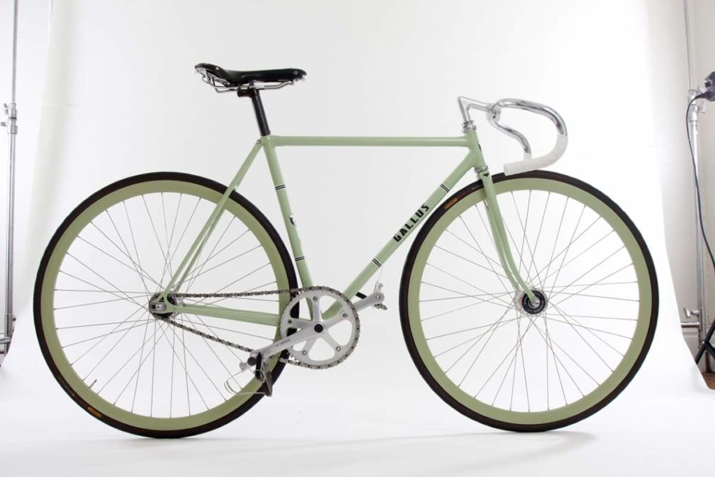 Boutique Bicycle Manufacturers (G-H) - Gallus track bike