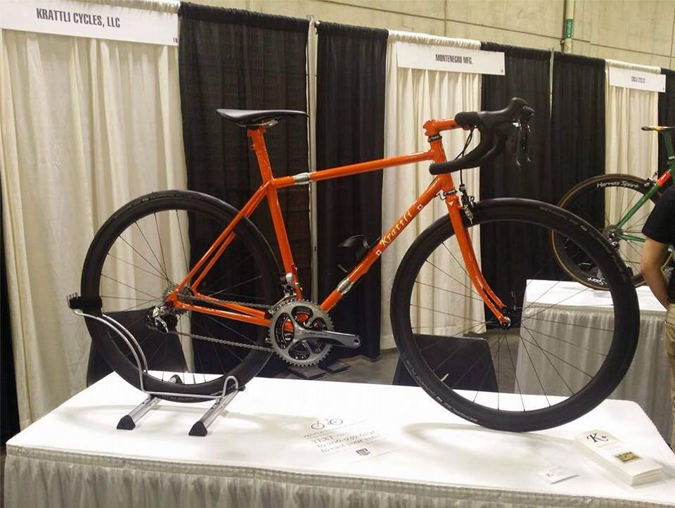 A Krattli road bike at the NAHBS 2016