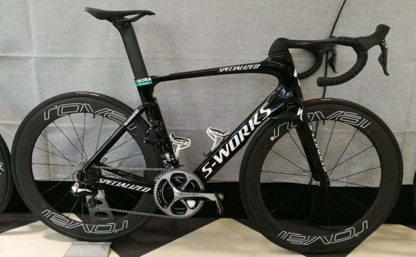 Peter Sagan's Specialized S-Works Venge 2017-bike