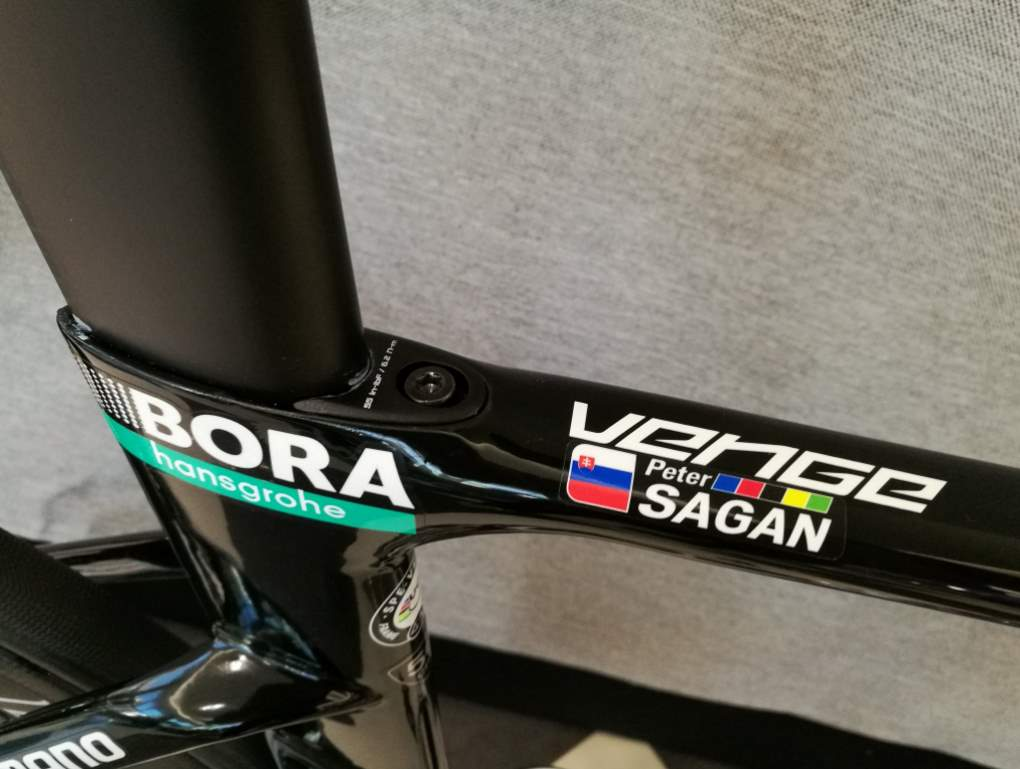 Peter Sagan's Specialized S-Works Venge 2017 (details)