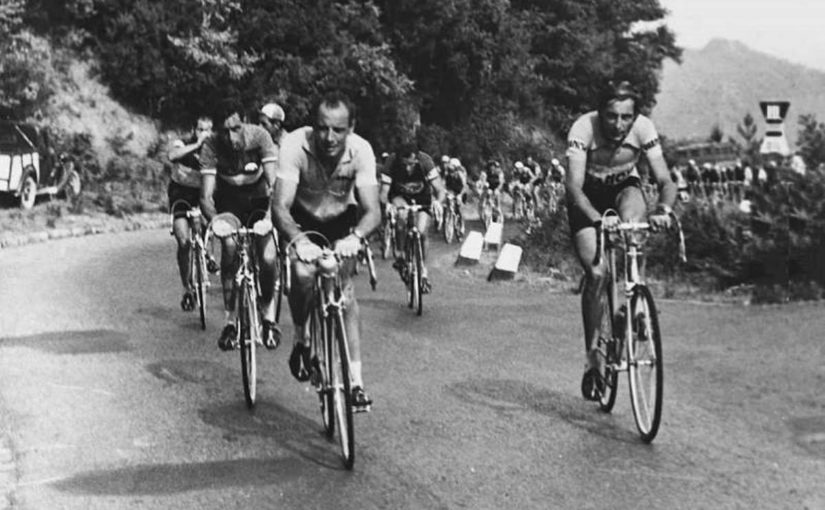 Fausto Coppi and Hugo Koblet, Giro d'Italia 1953