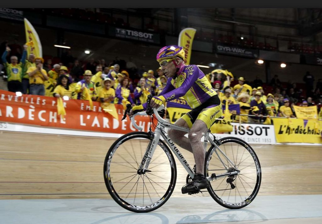 Robert Marchand Hour Record ride (January 2017)