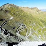Downhill from Stelvio, in the night, with no hands, no brakes!