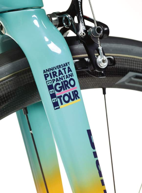 Bianchi Specialissima 2018 Marco Pantani Edition - fork