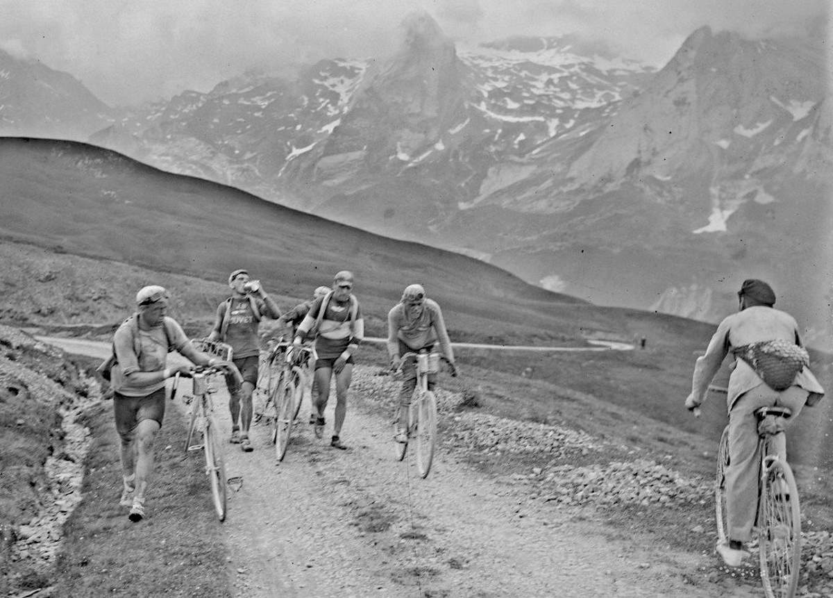 A Mountain Pass during the 1925 Tour de France