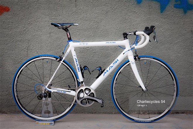 Alberto Masi Milano road bike