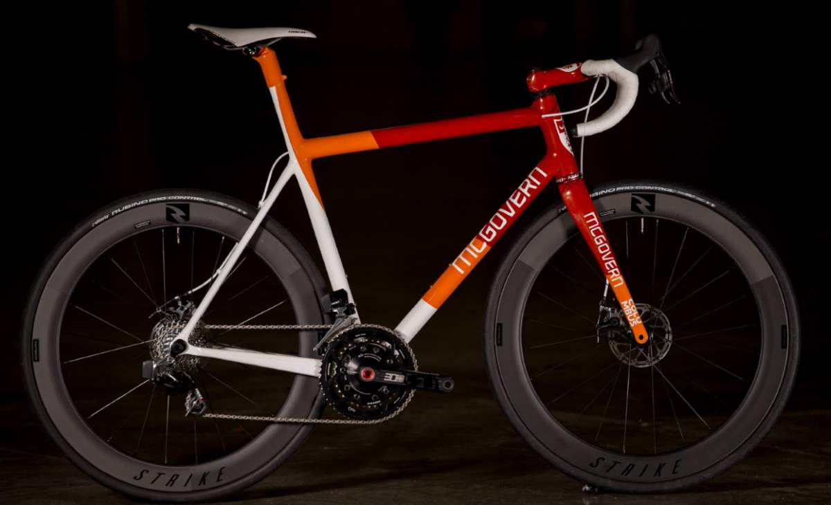 Boutique bicycle manufacturers: McGovern Tequila Sunrise