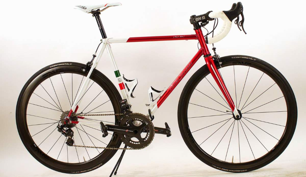 A Peter Mooney road bike