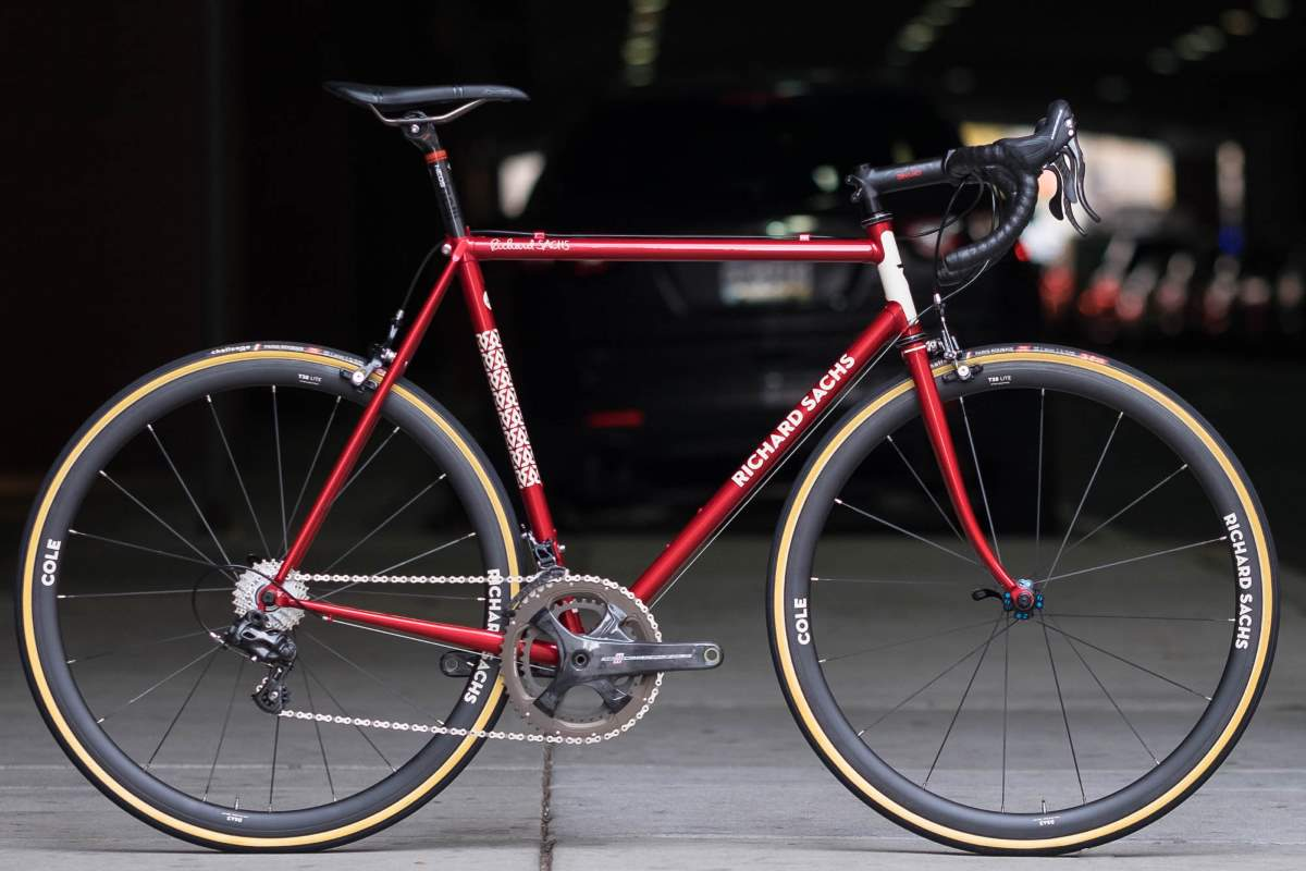 Boutique bicycle manufacturers: A Richard Sachs road bike