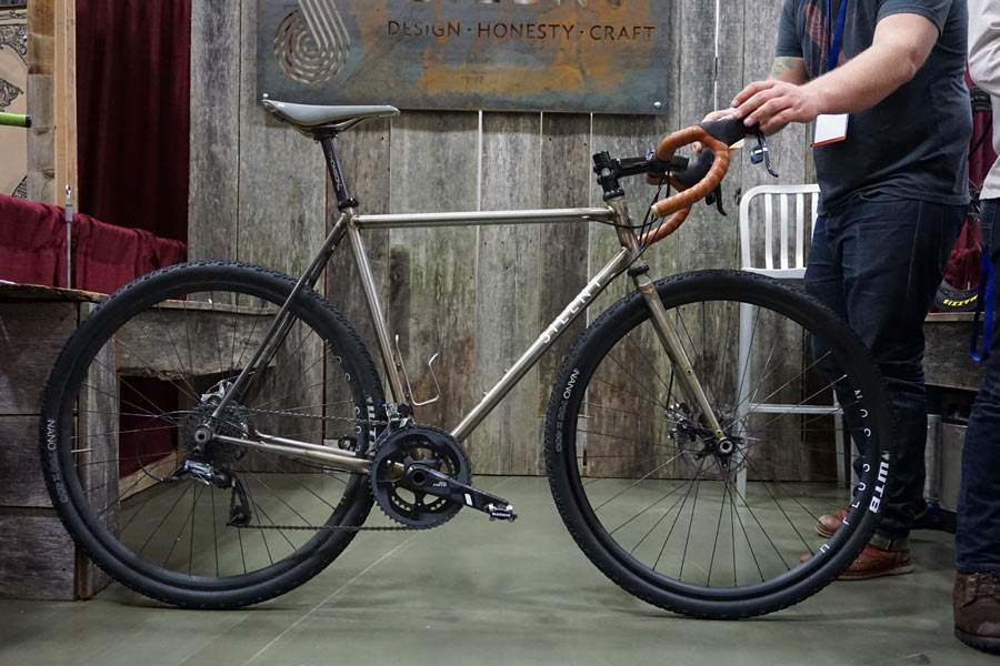 Boutique bicycle manufacturers: A Silent Cyclo-x bike.