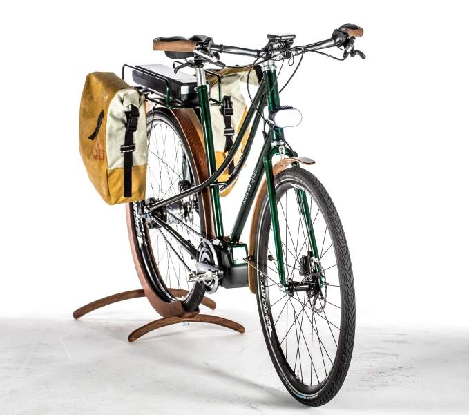 Boutique bicycle manufacturers: Sixth Law Cycles electric-powered bike
