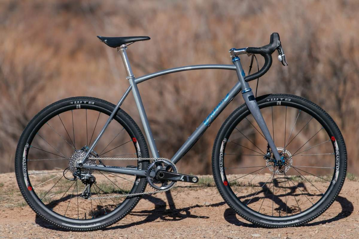 Boutique bicycle manufacturers: A Sklar cyclocross bike