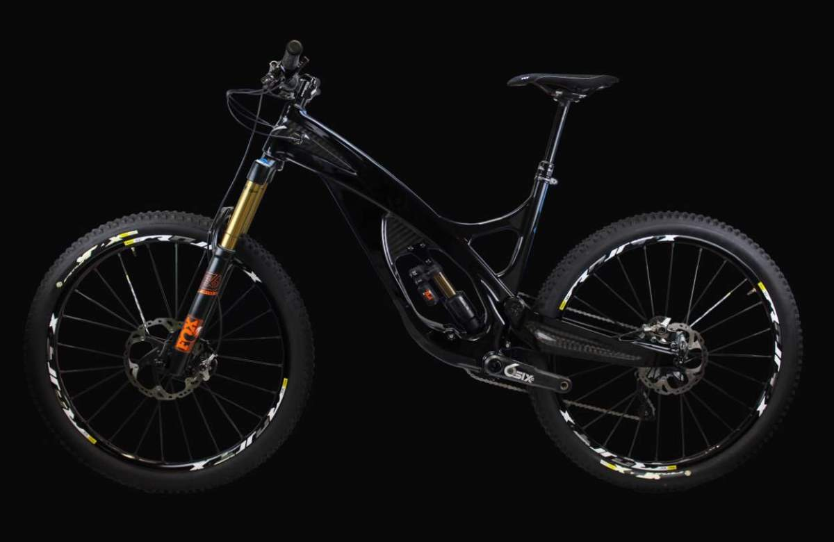 ARBR 160 mm trail bike
