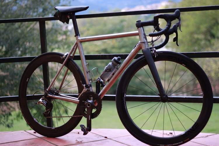 Boutique Bicycle Manufacturers - Angel Cycle Works Adagio road bike