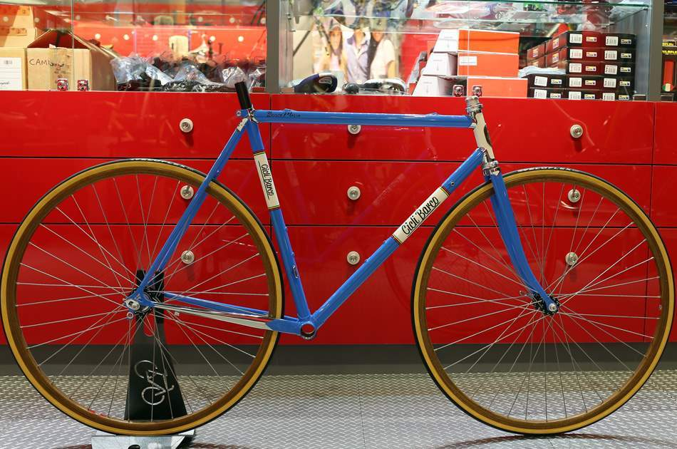 A Cicli Barco lugged steel frame