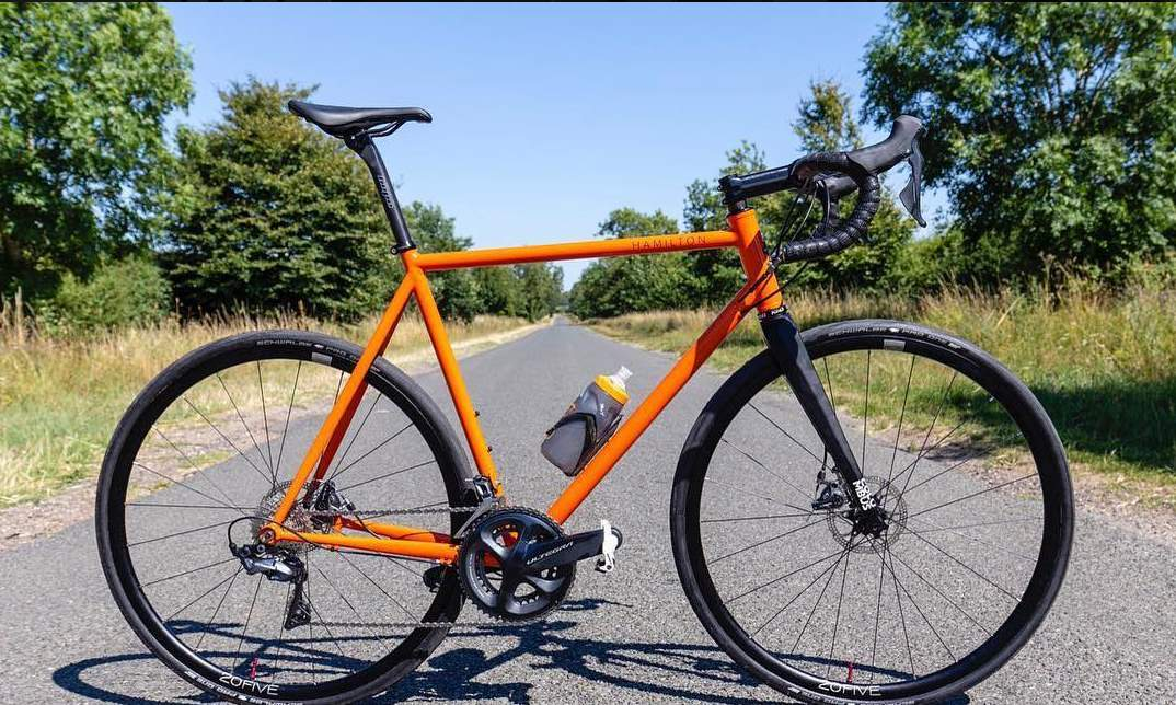 Boutique Bicycle Manufacturers (G-H) - A Hamilton Frameworks road bike