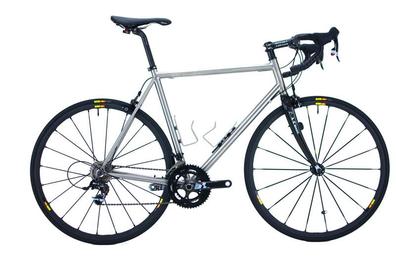 Boutique Bicycle Manufacturers (G-H) - A Hilite titanium road bike