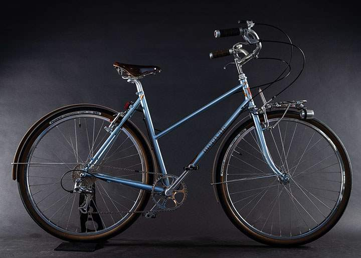 Boutique bicycle manufacturers: Merivale city bike