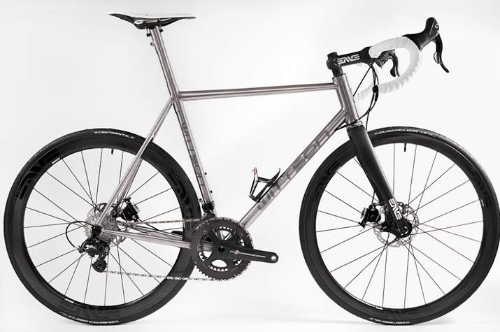 Wittson Suppresio titanium road bike.