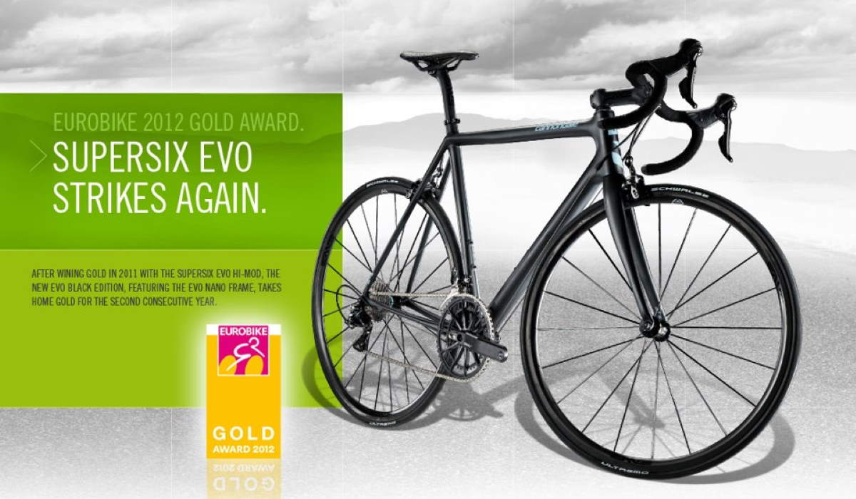 Cannondale SuperSix Evo Nano wins EUROBIKE 2012 Gold Award (featured)