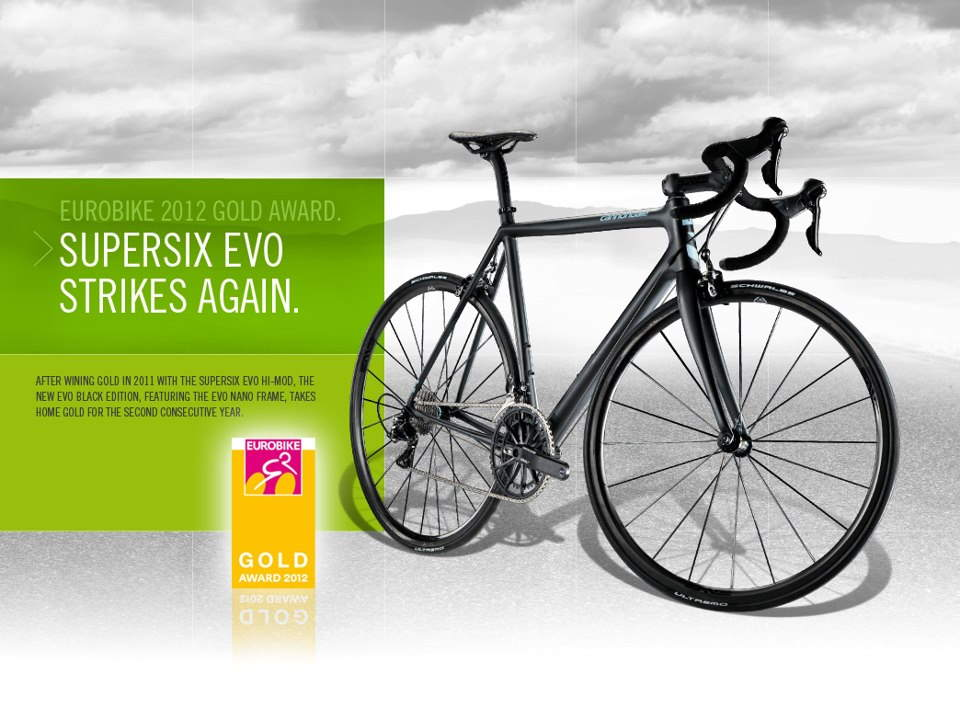 Cannondale SuperSix Evo Nano wins EUROBIKE 2012 Gold Award
