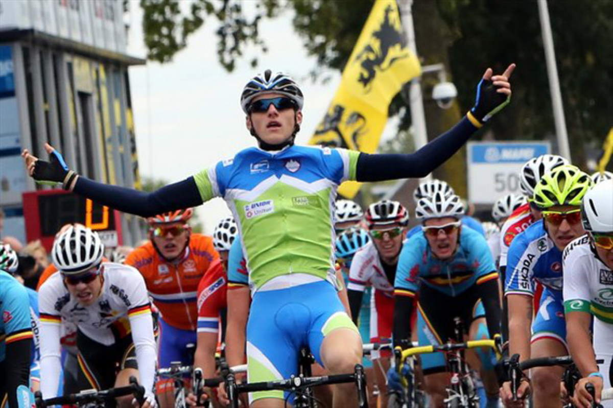 Matej Mohoric wins UCI Worlds 2012 Junior Men road race
