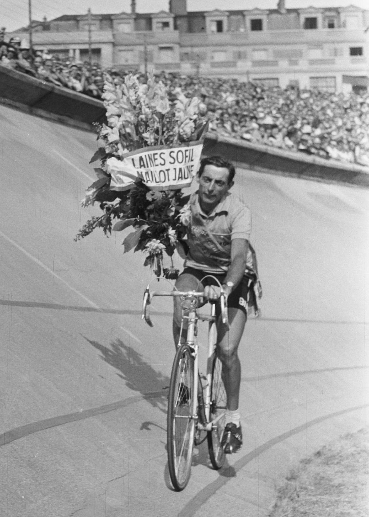 Fausto Coppi, 1952 Tour de France winner.