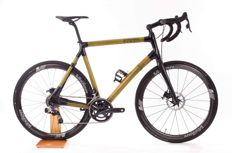 Bamboo Bikes Hawaii SRAM eTap adventure bike