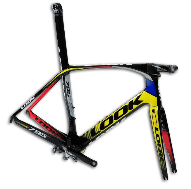 LOOK 795 Aerolight pro team Mondrian frameset