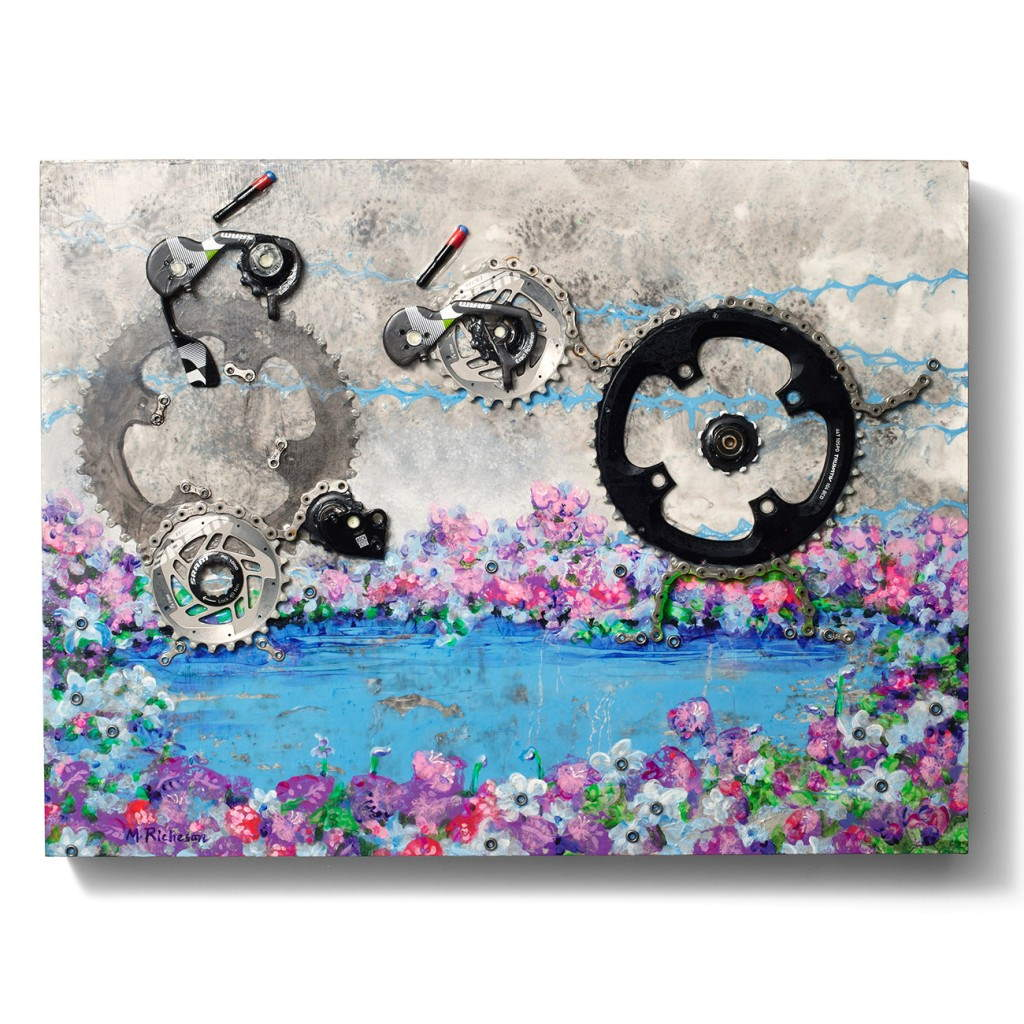 """SRAM pART Project - """"A Night at the Lake"""" by Michelle Richeson"""