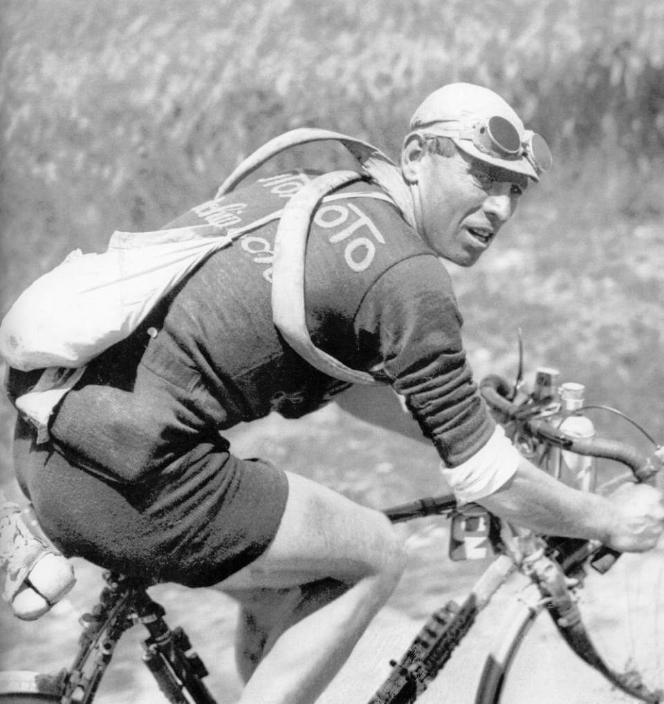 Lucien Buysse during the 1926 Tour de France