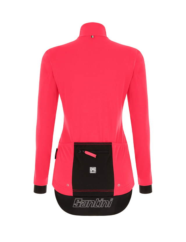 SANTINI Vega Multi jacket women granatina rear