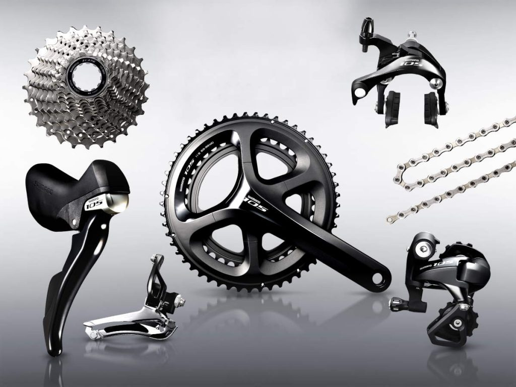 Shimano 105 2015 11-speed groupset (black)