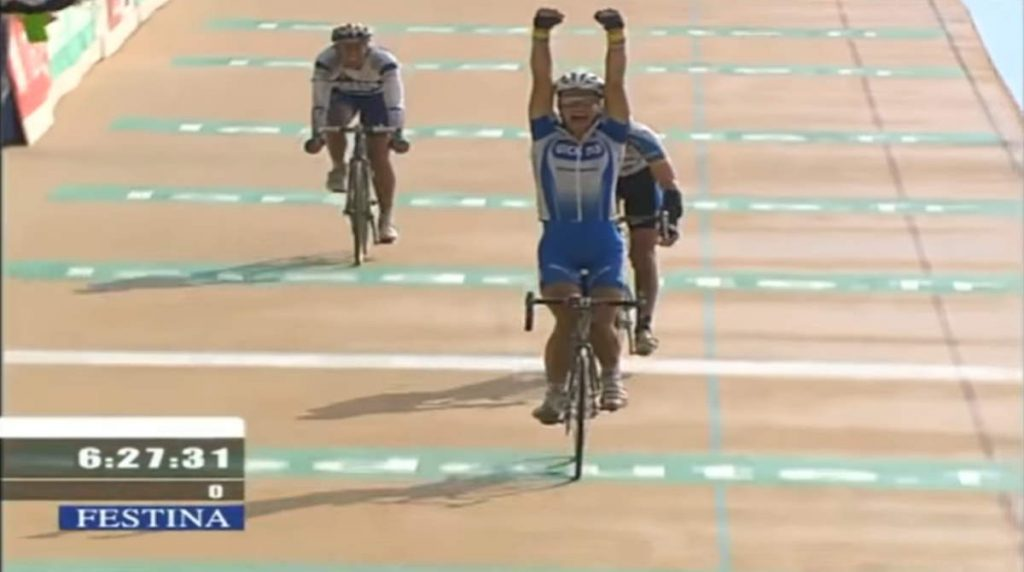 Vélo d'Or winners: Tom Boonen wins Paris-Roubaix 2005