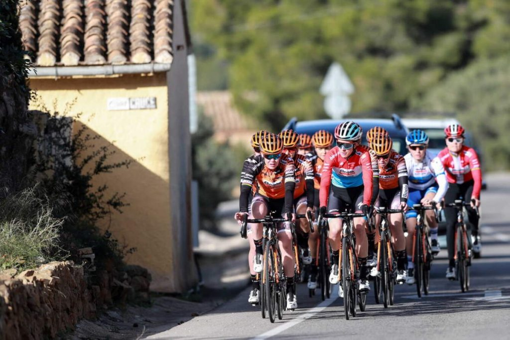 Boels-Dolmans cycling team 2020 riding