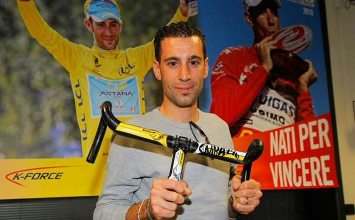 "FSA ""shark"" components - Vincenzo Nibali"