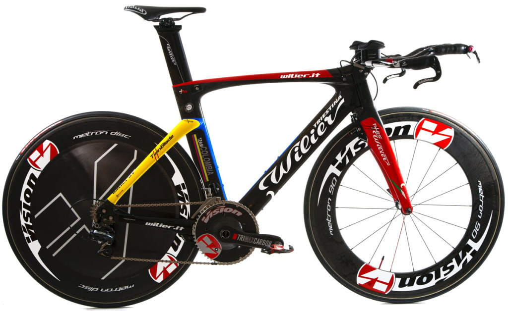 Wilier Triestina Twin Blade, Team Colombia Special Edition 2013
