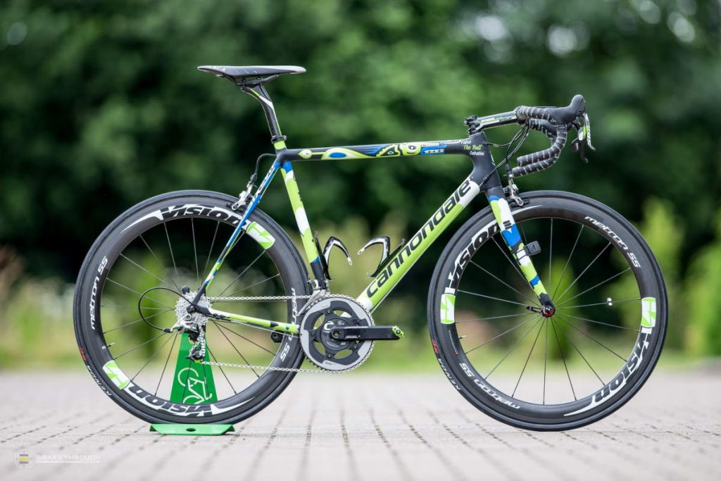 Fabio Sabatini custom-painted Cannondale EVO bike for the Tour de France 2014