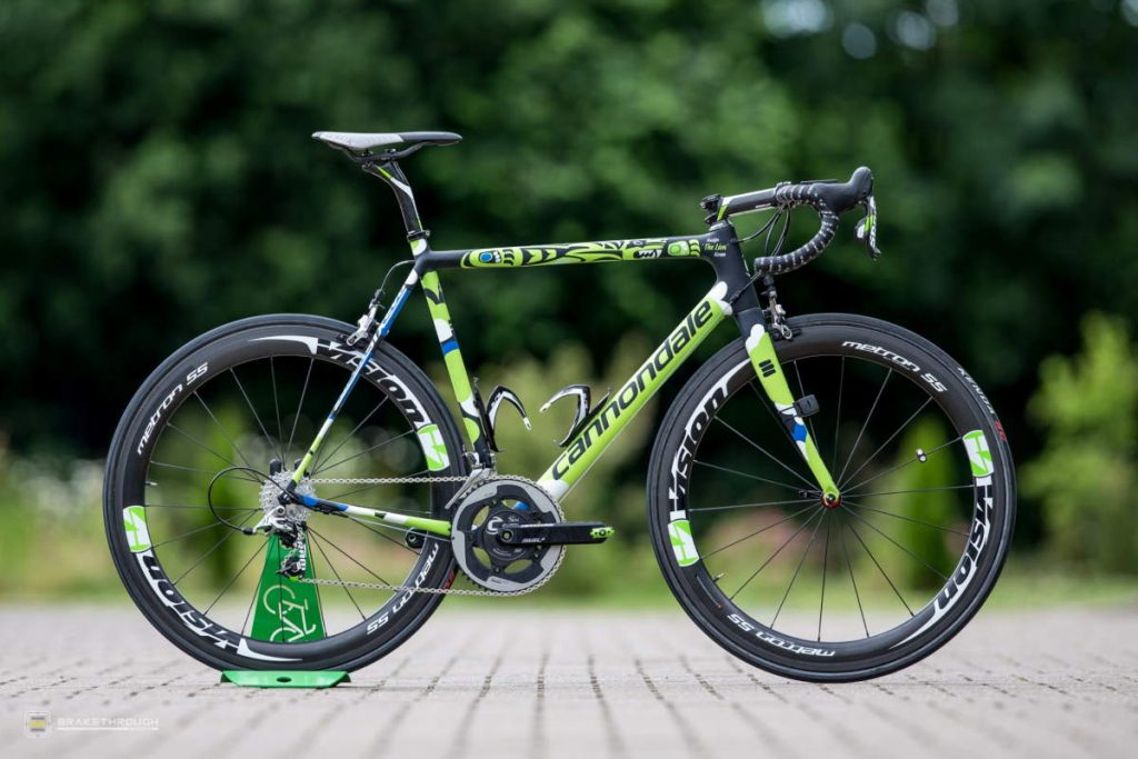 Kristijan Koren custom-painted Cannondale EVO bike for the Tour de France 2014