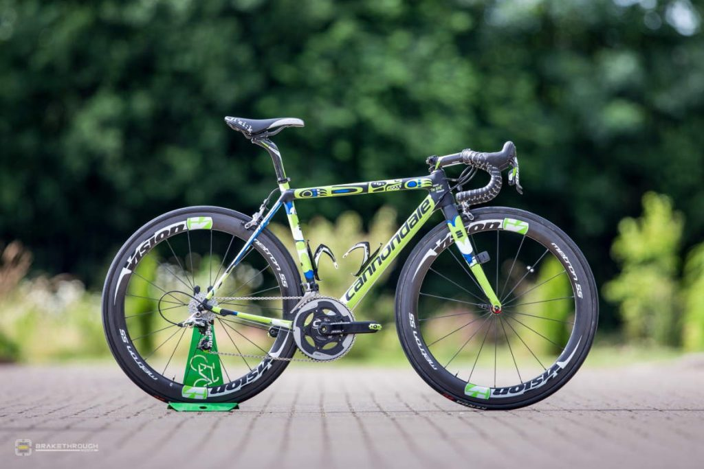 Marco Marcato custom-painted Cannondale EVO bike for the Tour de France 2014