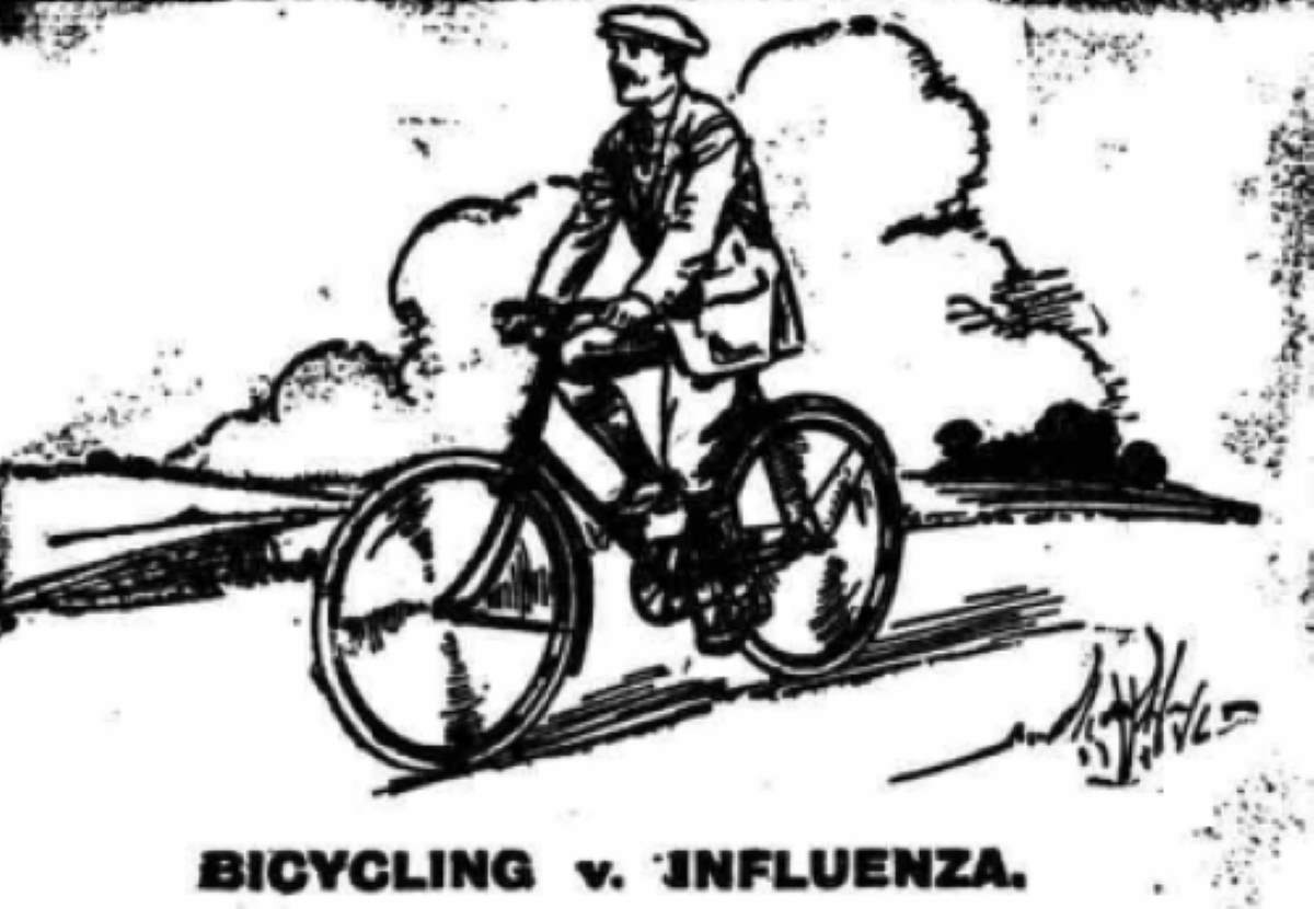 Spanish Flu - Bicycling v. Influenza