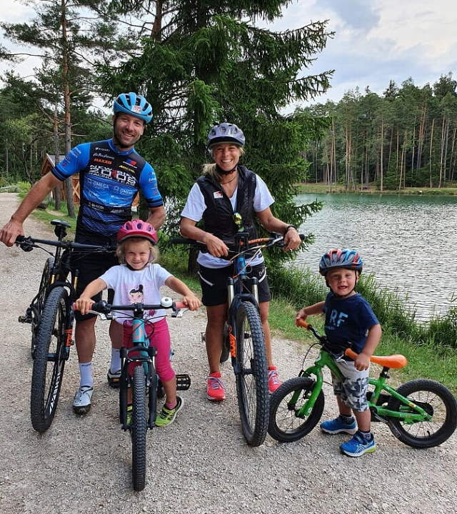 Sporthilfe Heroes Run 2020 - a cycling family
